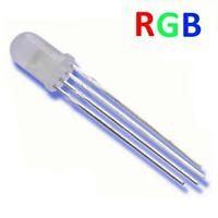 S473 - 20 Stück LED 5mm RGB 4 Pin diffus rot grün blau gemeinsame Kathode Minus