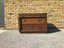 Vintage shop counter/vintage haberdashery cabinet/vintage wooden storage cabinet