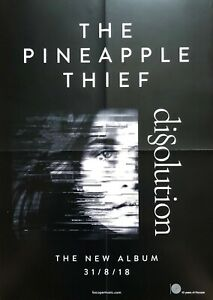 The Pineapple Thief Dissolution Original Album Promo Poster A2