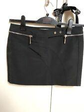 Karen Millen Black Mini Skirt Size UK 10