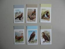Vogels, Birds, serie Tajikistan, 2007, pfrs, ongetand