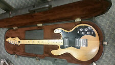 Peavey T-60 Electric Guitar - ORIGINAL 1982 Made in USA with HARDSHELL CASE ASH