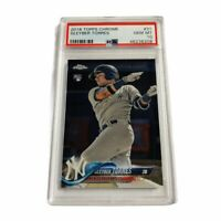 Gleyber Torres 2018 Topps Chrome PSA 10 Rookie Card RC #31 Yankees