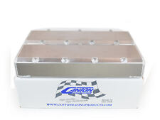 Canton 65-400 Valve Covers For Big Block Chevy Aluminum With Hardware Blemished
