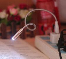 New USB LED Gooseneck Table Lamp Laptop Keyboard/Bendable Night Light