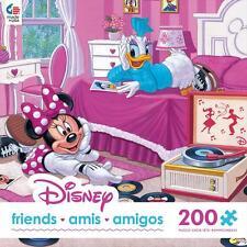 CEACO JIGSAW PUZZLE DISNEY DISNEY FRIENDS MINNIE & DAISY 200 PCS #2242-1