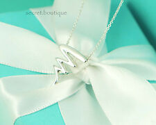 "AUTHENTIC Tiffany & Co. Scribble Pendant Necklace 16.5"" (#964)"