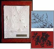Sizzix Embossing Folders - Brush Poinsettia & Winter Berries 658273 Tim Holtz