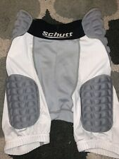 Schutt 5 pad Compression Fit Football Girdle Youth Medium white padded shorts