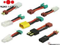 YUKI Model Akku Adapter Stecker/Buchse Tamiya/MPX/XT60/T-DEANS/Traxxas/EC3