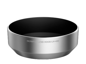 Olympus LH-49B Lens Hood - Silver