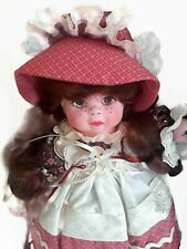 "Authentic 1994 Doll - Ann- 19"" by Chris Miller. Music box inside her body ."