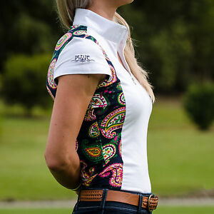 Competition show shirt with print panels, 2 print options, sizes 4, 6