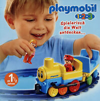Prospekt Playmobil 1-2-3 3/07 2007 Broschüre 16 S. Spielzeug Spielwaren Katalog