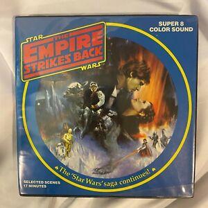 The Empire Strikes Back Star Wars episode V Super 8mm Color Sound Film Very Rare