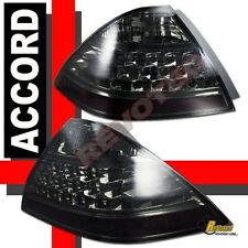 06 07 Honda Accord 4Dr Sedan EX LX Smoke Tail Lights Lamps 1 Pair