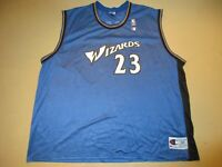 Vintage Michael Jordan Washington Wizards Champion Jersey 52 XXL
