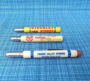 Vintage Bullet Pencils Advertising - Weeping Water, Phillips & US Steel...BPP013