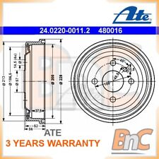 2x ATE REAR BRAKE DRUM OPEL VAUXHALL OEM 24022000112 90193915