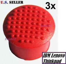 ☀3x trackpoint mouse red cap nipple pointer button Lenovo T23 R40 T500 T510 T520