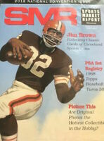 SMR Sports Market Report PSA/DNA Guide Magazine JIM BROWN 8/2018  NEW