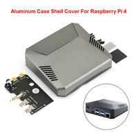 Multifunction Aluminum Shell Case Cover For Raspberry Pi 4 Model B Cooling Fan