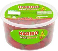 HARIBO Giant Strawberry Bulk Sweets 1 Kg