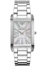 NEW EMPORIO ARMANI AR3169 LADIES DIAMOND WATCH - 2 YEAR WARRANTY