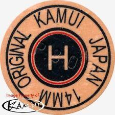 Kamui Original Brown Hard Pool Cue Tip 14mm Quantity 1 Tip