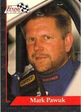 1993 Finish Line Collectibles NHRA Winston Drag Racing Card - Mark Pawuk
