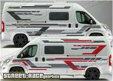 Motorhome Campervan 060 graphics stickers decal Fiat Ducato Citroen Relay Boxer