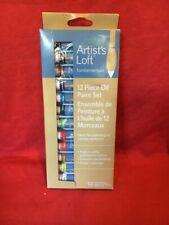 New listing Artist,s Loft fundamentals 12 Piece Oil Paint Set -12ml tubes