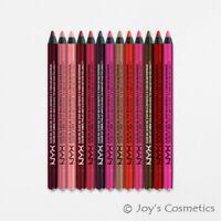 "3 NYX Slide On Lip Pencil Waterproof - SLLP ""Pick Your 3 Color""*Joy's cosmetics*"