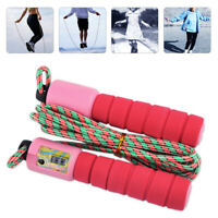 Digital Skip Counter Skipping Rope for Workout Exercise Jump Fitness Flexible