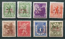 GERMANY SOVIET OCCUPATION ZONE LOCAL ISSUE STORKOW MICHEL 1-8 PERFECT MNH