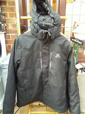 "ZeroXposur Mens Insulated Padded Hooded Waterproof Jacket - XL (46-48"")"