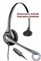 Plantronics SupraPlus H251N/A Monaural Telephone Call center Headset