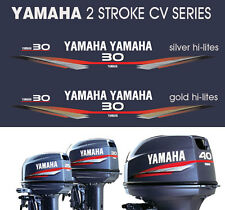 YAMAHA 30hp Two Stroke CV Series