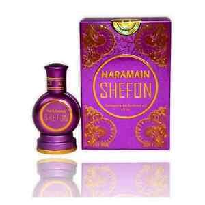 Shefon 15ml  Unisex Arabian Perfume Oil Oudh Sandal Musk by Al Haramain