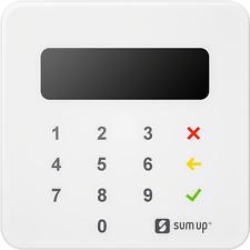 SumUp Air Kartenterminal Model Air1E000 NFC Antenne für kontaktloses Bezahlen