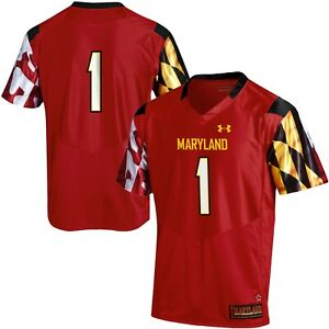 Under Armour University of Maryland Terrapins Authentic Football Jersey Men's XL