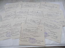 12 Items Received From The Wilts County Police to a Mr Hayter From 1931, Swindon
