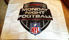 ESPN MNF Monday Night Football Sports Banner Sign Poster - Mint/Rare! (New Logo)