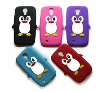 Penguin 3D For All Models Soft Silicone QQ Back Case Protect Cover Cute Cartoon