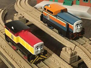 2010 Mattel DEN and DART Trackmaster Thomas Tank Engine Friends Diesel Train Lot