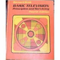 Basic television, principles and servicing by Grob, Bernard