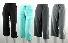 Danskin Capri Pants Women's Soft Stretch Crop, Drawstring Waist, Relaxed Fit