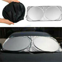 Car Auto Front Rear Window Foldable Visor Sun Shade Windshield Cover Block New