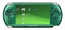 Playstation Portable Spirited Green PSP 3000SG Sony Limited Console F/S used