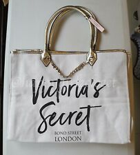 VICTORIA'S SECRET (VS) TOTE BAG WHITE